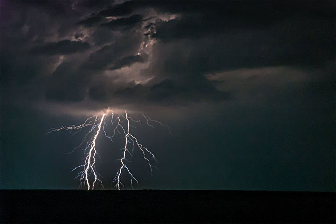 Lightning is a risk when storm chasing